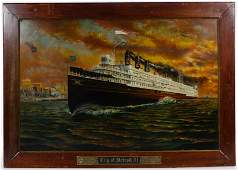 Unknown Artist (American, 20th Century) 'City of