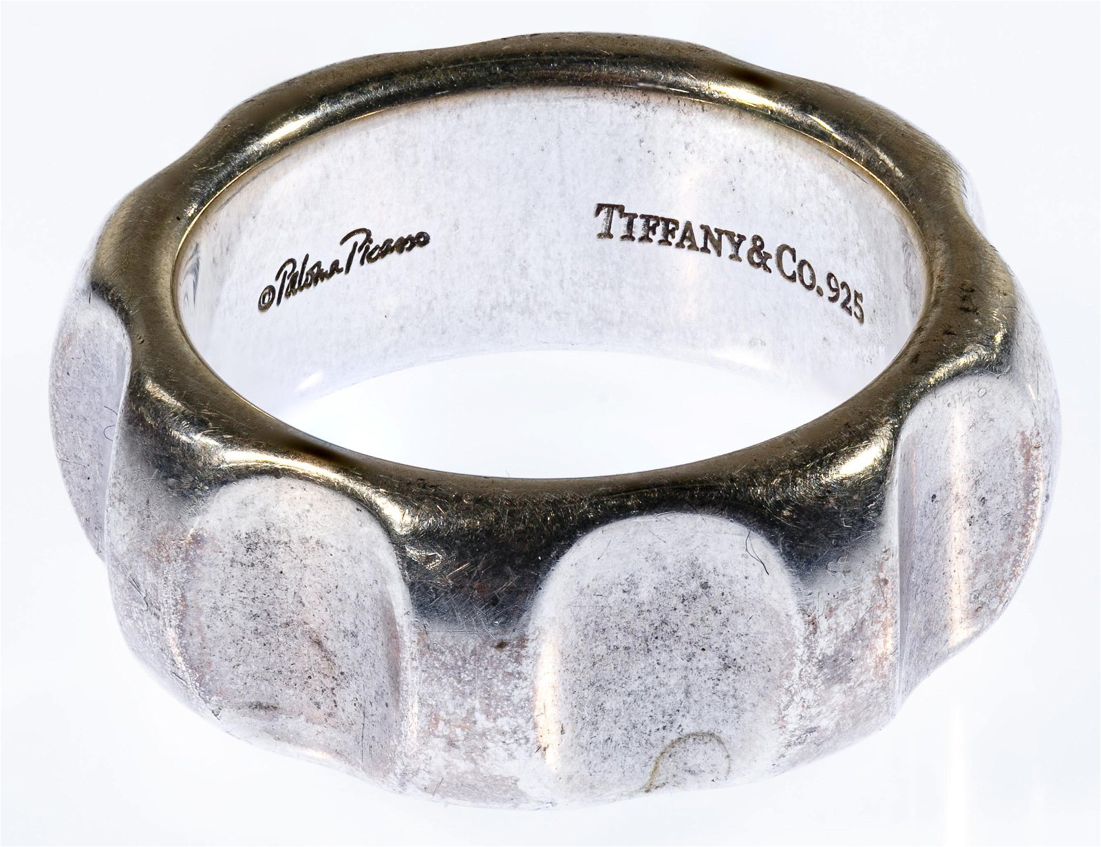 Tiffany & Co. Paloma Picasso Sterling Silver Groove