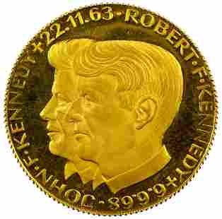 Kennedy Fine Gold 900 Medal