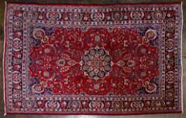 Persian Mashad Room Size Wool Rug