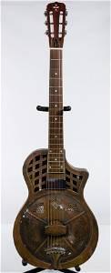 Republic 'Highway 61' Resonator Guitar with Case