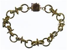 18k / 14k Gold Link Bracelet