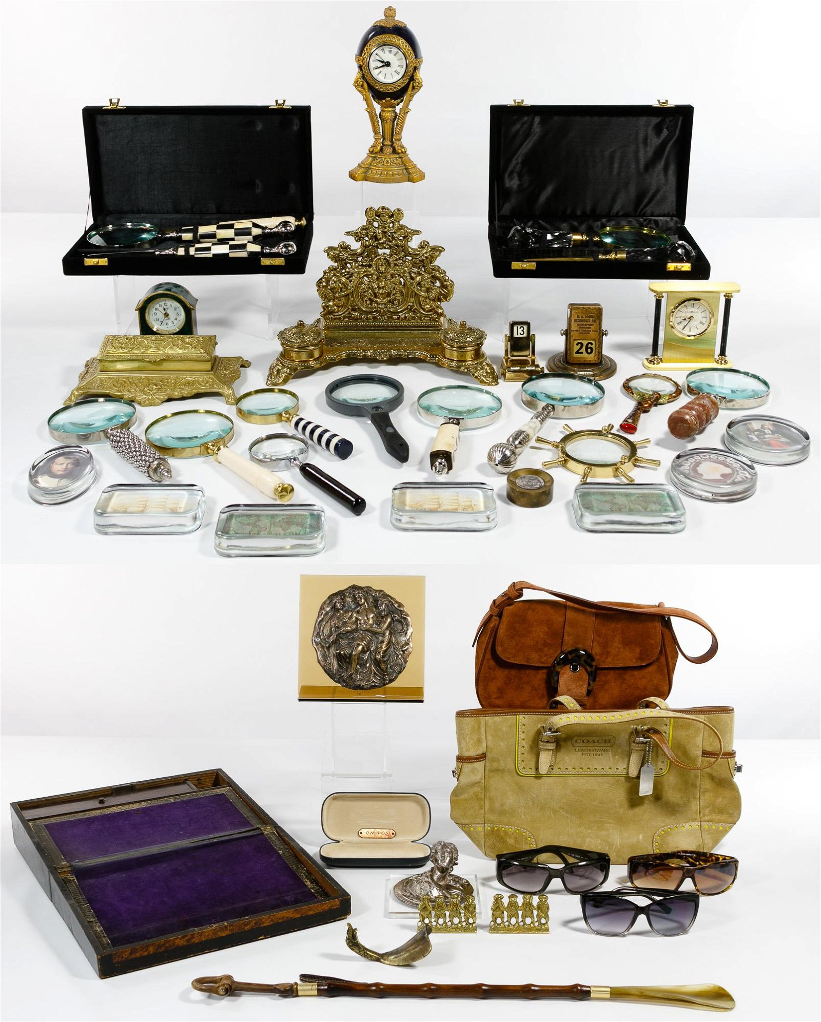Desk and Fashion Accessory Assortment