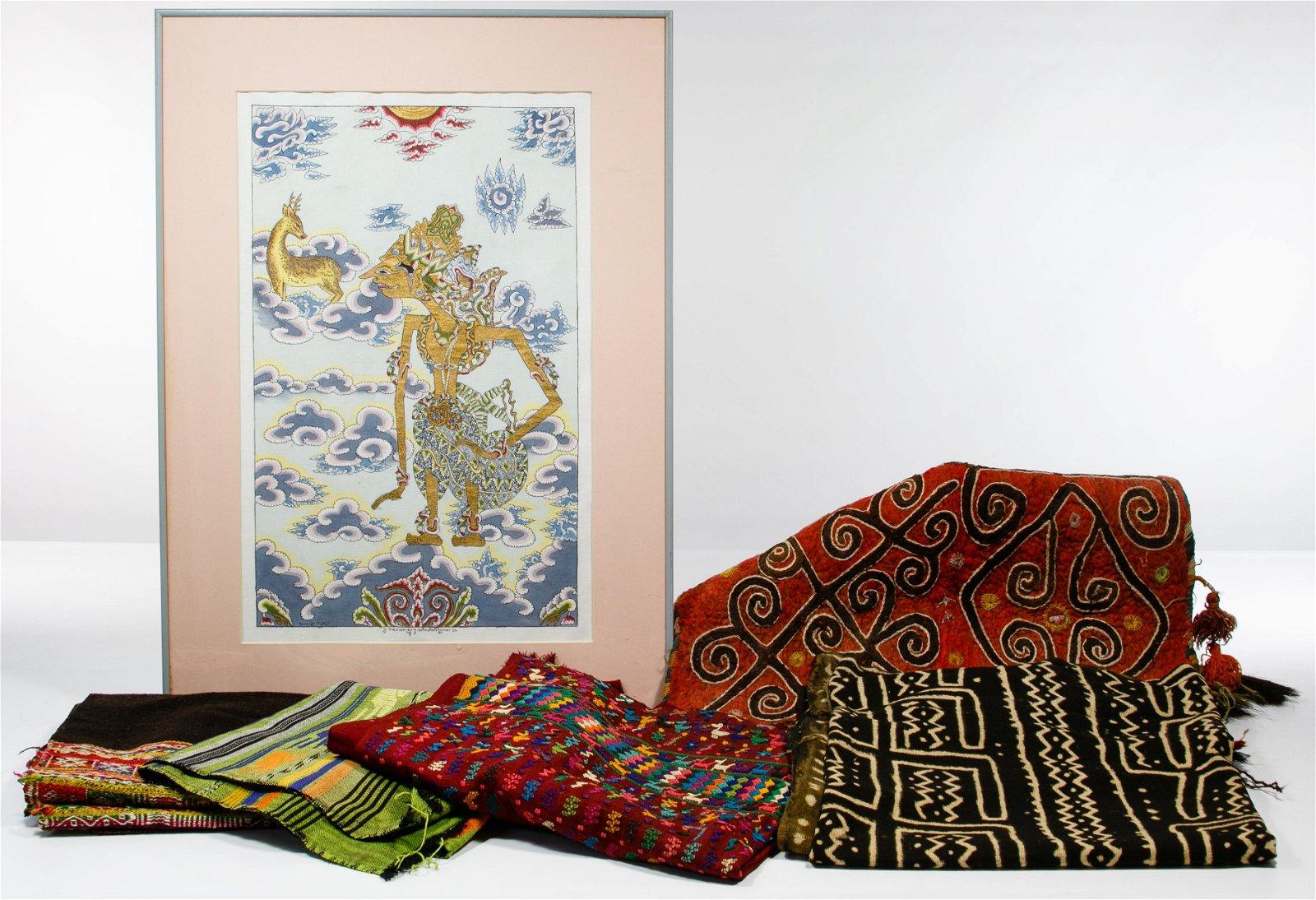 Asian Decorative Textile Assortment
