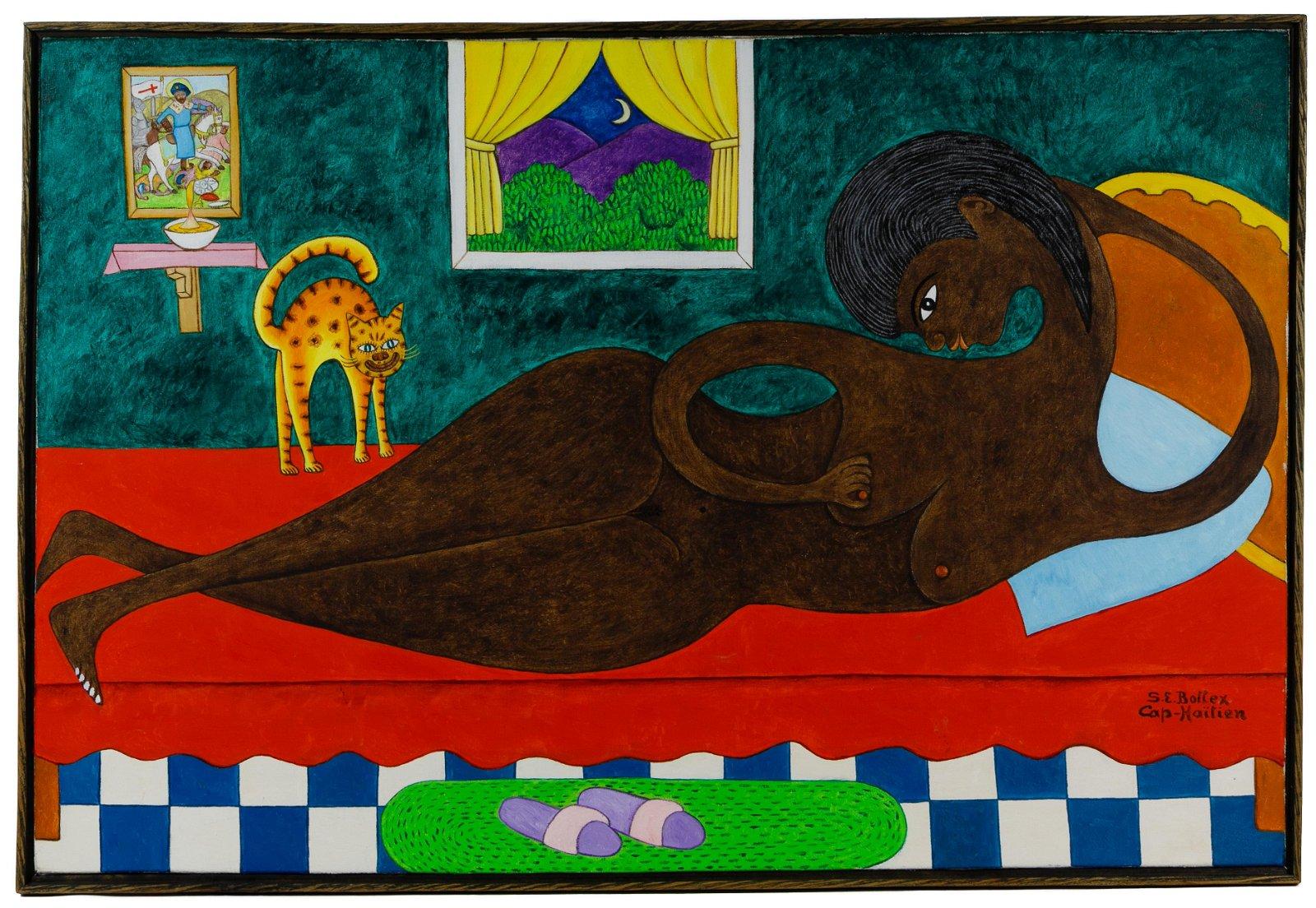 Seymour Etienne Bottex (Haitian, 1922-2016) Oil on
