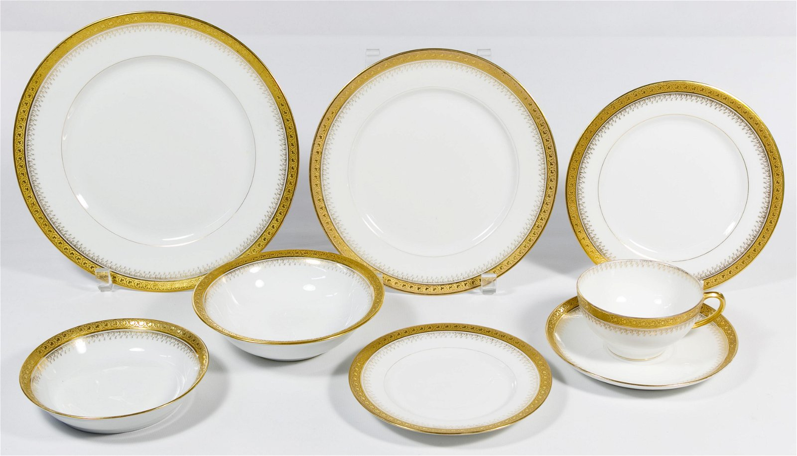 William Guerin Limoges France China Service