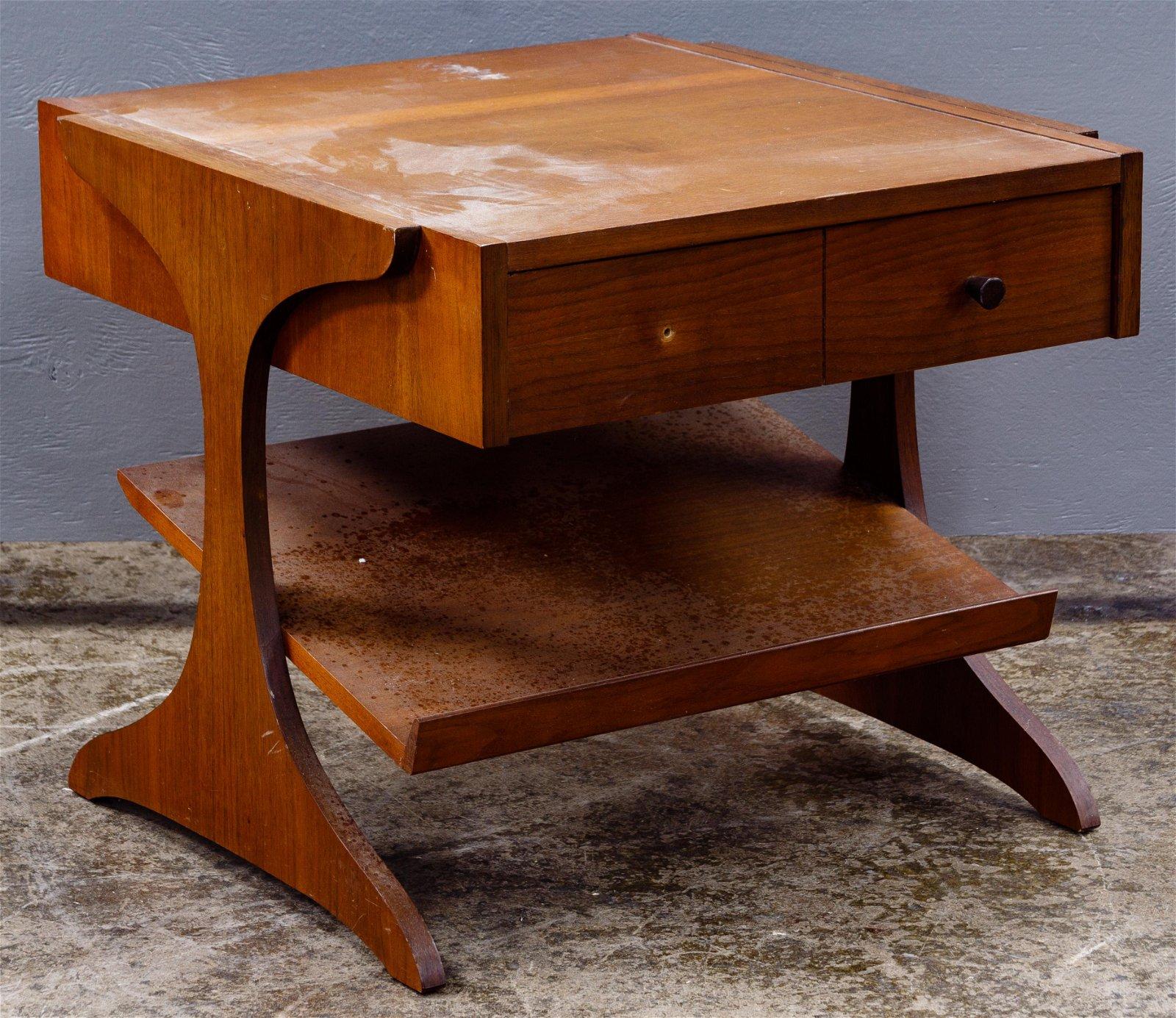 Kroehler MCM Teak End Table