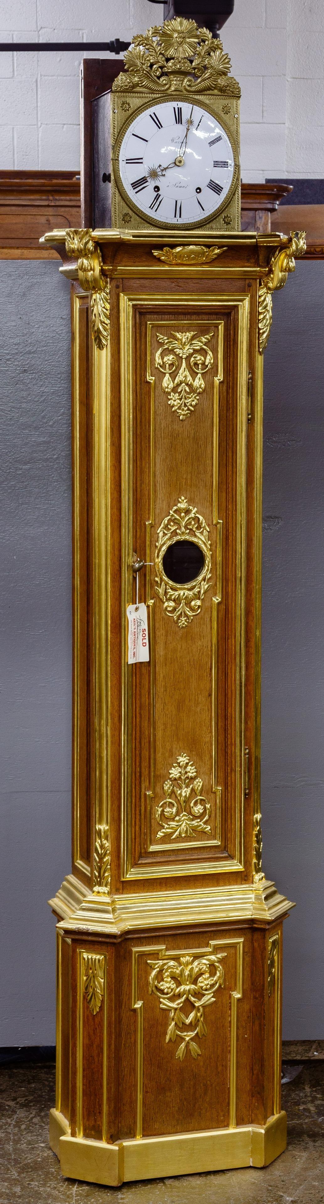 Warnon Tall Case Grandfather Clock