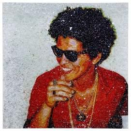 "Tiffanie Anderson (American, b.1988) ""Bruno Mars"""