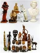 Figurine and Decorative Object Assortment
