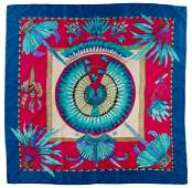 Hermes Brazil Silk Scarf