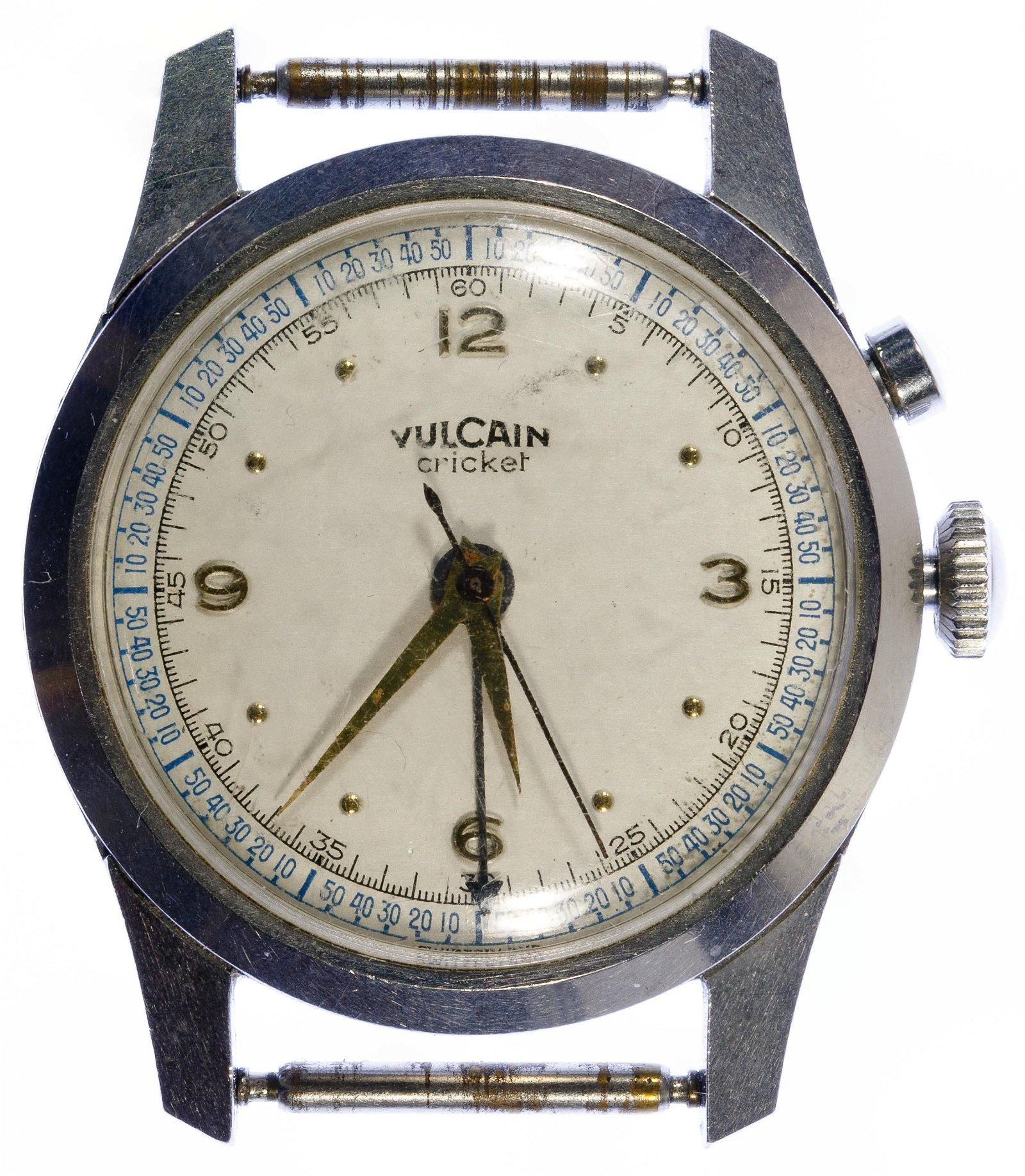 Vulcain 'Cricket' Alarm Wrist Watch