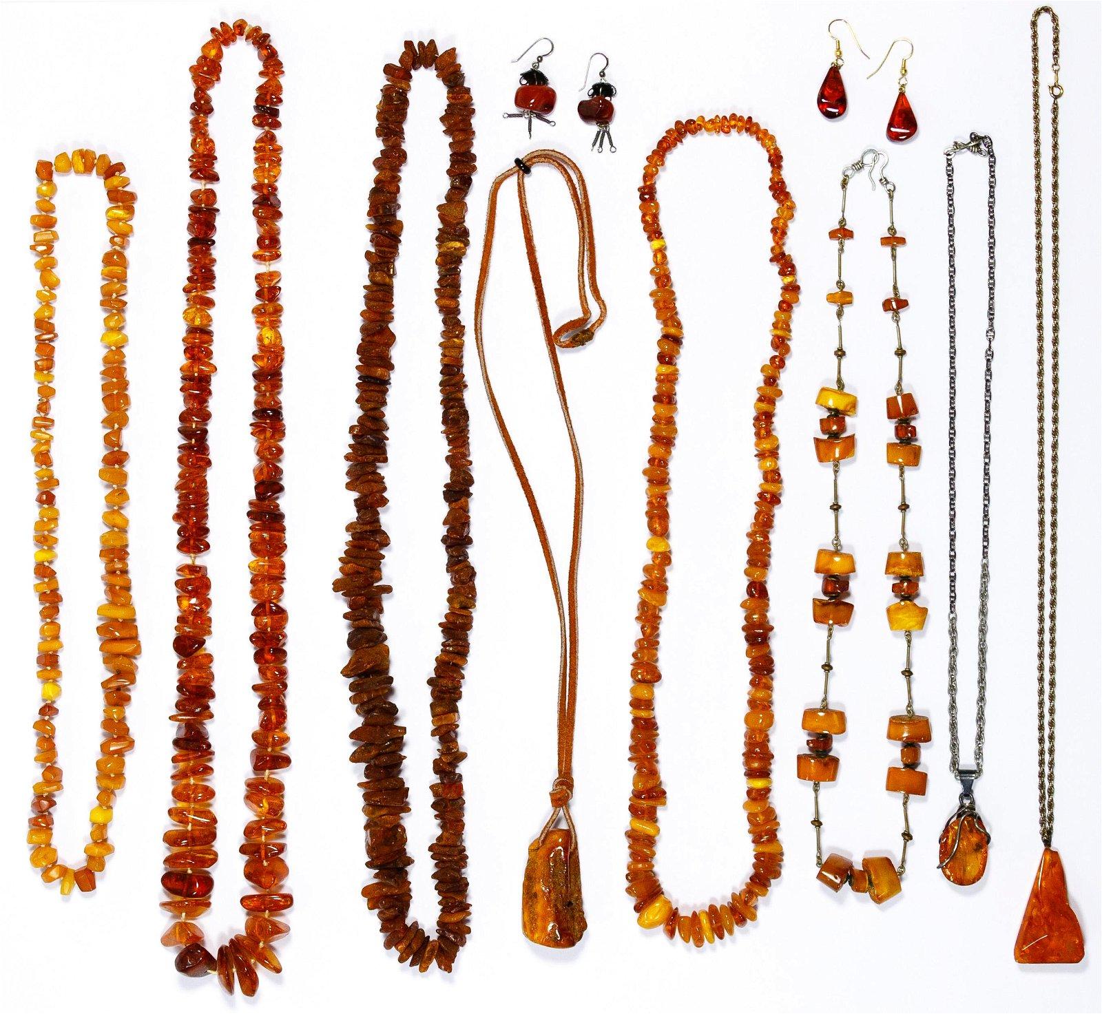 Amber Jewelry Assortment