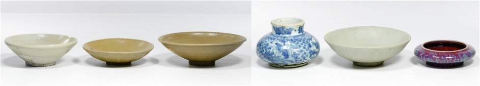 Chinese Ming Sung and Yuan Bowl Assortment