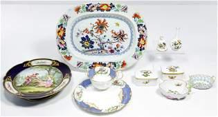 Herend Rothschild Bird Porcelain Assortment