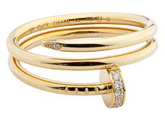Cartier 18k Yellow Gold and Diamond 'Juste un Clou'