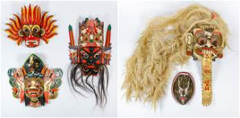 Indonesian Mask Assortment
