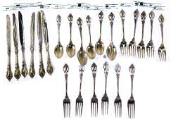 Lunt Eloquence Sterling Silver Flatware Service