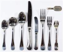 Christofle 'Berry' Stainless Steel Flatware Assortment