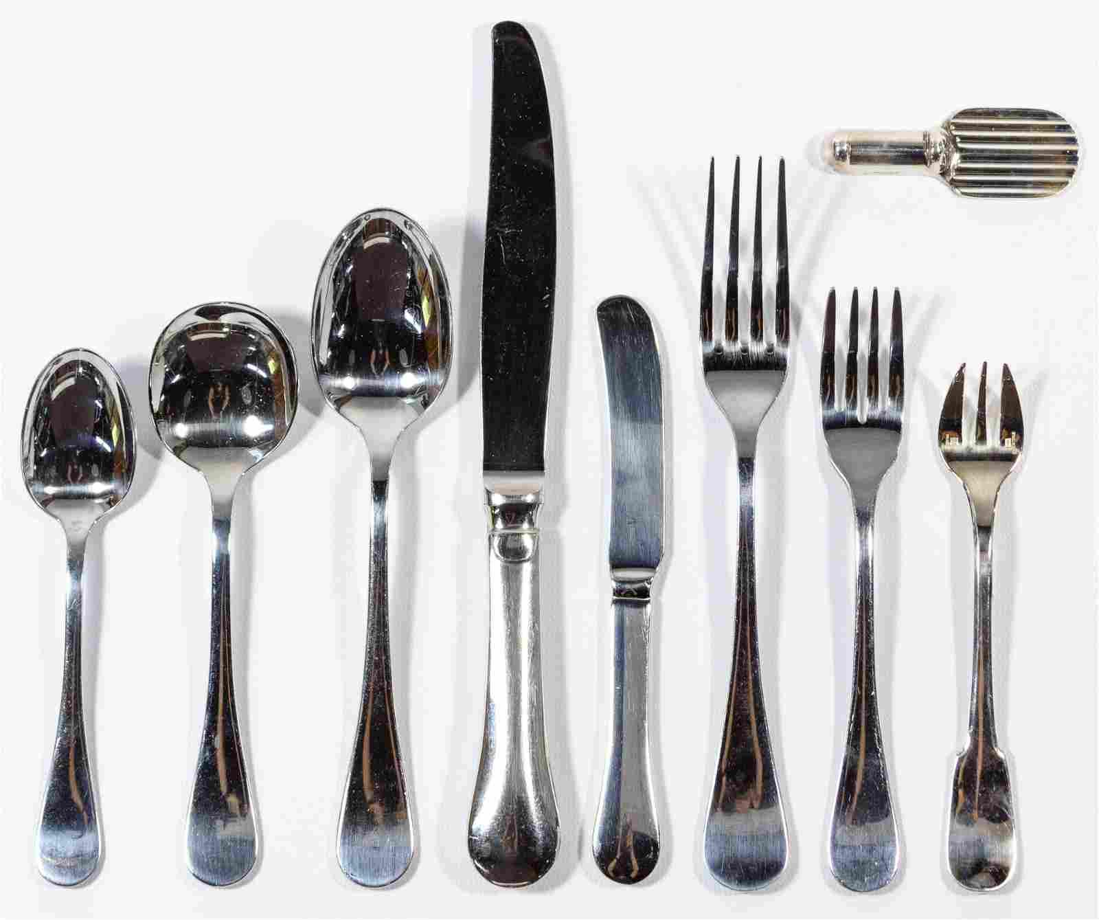 Christofle 'Berry' Stainless Steel Flatware Assortment