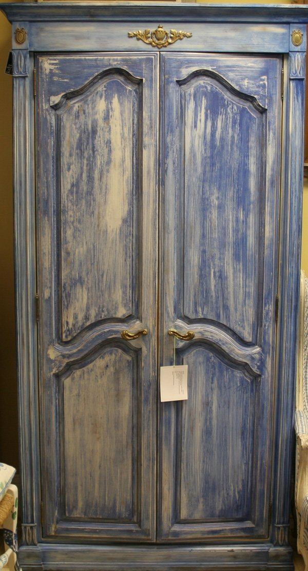 14: 14: French Provincial style Armoire with Custom Pai
