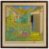 Gustave Baumann (German, 1881-1971) 'Grandma Battin's