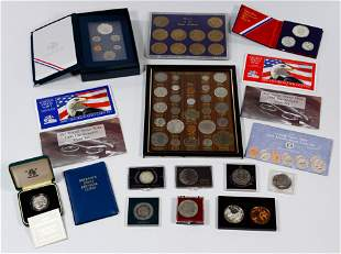 US and Foreign Coin Assortment