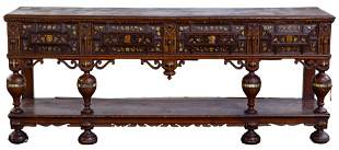 Jacobean Revival Sideboard
