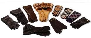 Burberry and Designer Glove Assortment