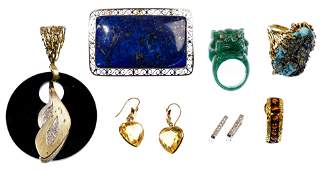 18k Gold and 14k Gold Jewelry Assortment
