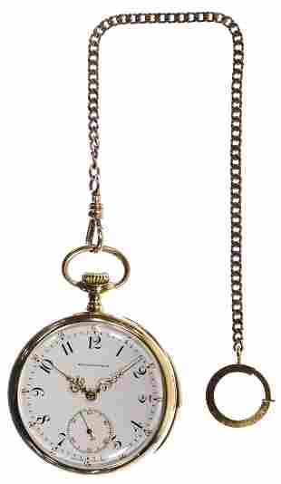 Patek Philippe 18k Gold Minute Repeater Pocket Watch