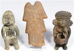 Pre-Columbian Style Ceramic Figurine Assortment