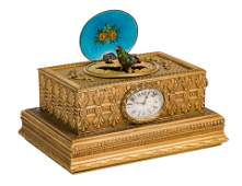 Swiss Automation Box with Clock