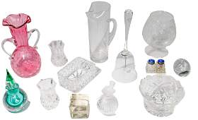 Lalique, Waterford, Orrefors Crystal and Glass