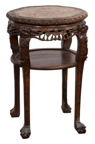 Chinese Qing Dynasty Huang Hua Li Wood Table