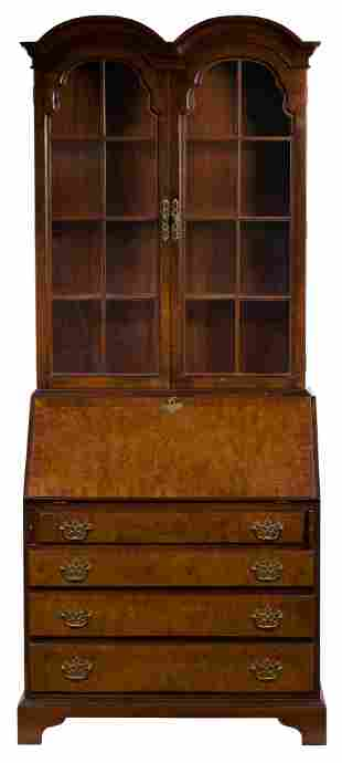 Hickory Chair Company Wood Secretary and Hutch