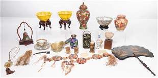 Asian Decorative Object Assortment