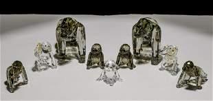 Swarovski Crystal Gorilla Assortment