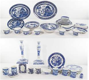 Blue and White China Assortment