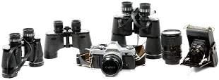 Camera and Binocular Assortment