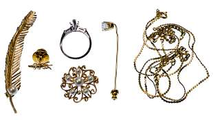 14k Yellow Gold Jewelry Assortment