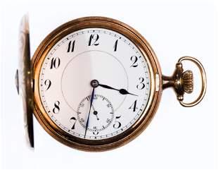 Staehli & Brun 10k Gold Filled Pocket Watch