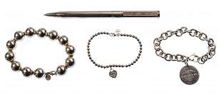 Tiffany & Co Sterling Silver Jewelry Assortment