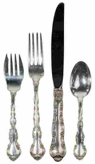 Gorham 'Strasbourg' Sterling Silver Flatware