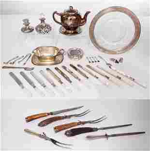 Sterling Silver Service Ware Assortment