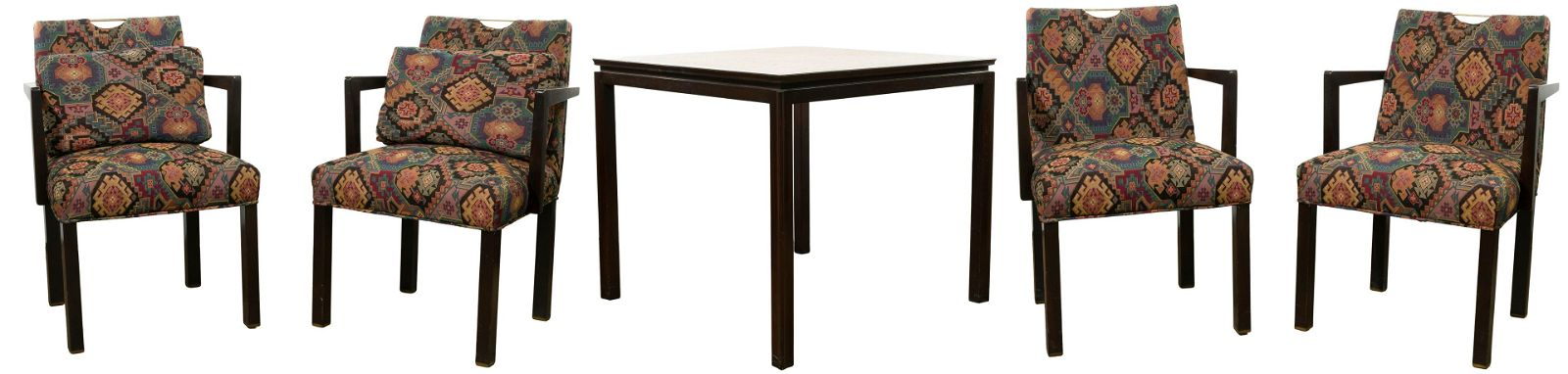 MCM Edward Wormley for Dunbar Table and Chairs