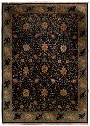 Persian Kashan Wool Rug
