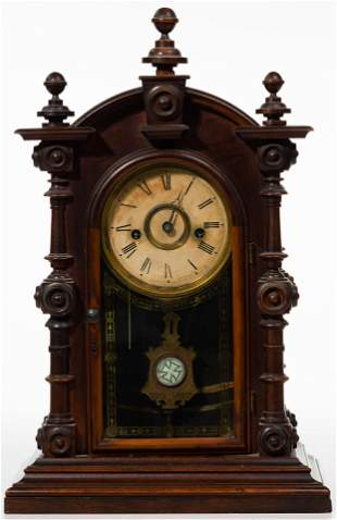 Welch and Spring Company 'Patti' Shelf Clock