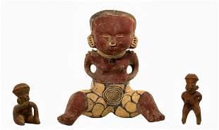 Pre-Columbian Style Nayarit Chinesco Figurine