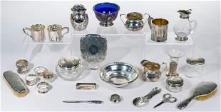 Sterling Silver Hollowware Assortment